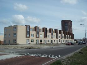 nieuwbouw in een buitenwijk van de stad: foto infovlissingen.nl
