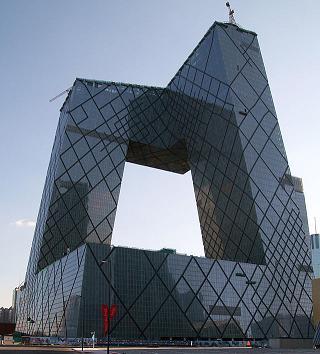 CCTV -toren in Peking: foto wikipedia shared domein