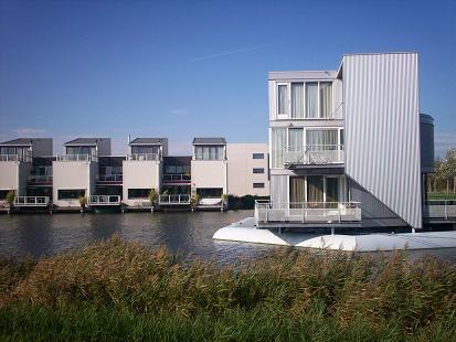 villa's aan de waterkant